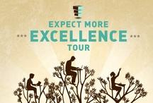 Expect More Excellence Tour / Expect More Arizona is launching the Expect More Excellence Tour to highlight what Arizonans are doing all over the state to make progress toward world-class education. We hope these examples of excellence inspire us to ensure all Arizona students have access to a world-class education. See and Share the Excellence at ExpectMoreArizona.org.