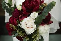 Winter Wedding / Cranberry, blackberry, cream,  / by Sarah Greenwell