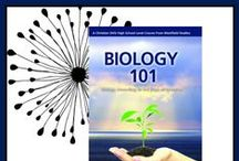Homeschool - Biology 101 / Resources to supplement the Biology 101 DVD series. See our schedule here: http://amyswandering.com/biology-101/