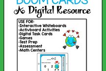 Digital Classroom Ideas / Are you using powerpoint, ipads, computers and google slides in your classroom? Resources and products that will support you and your students with your digital classroom will be here for you!