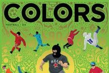 COLORS / COLORS is a magazine about the rest of the world; distributed quarterly in more than 40 countries worldwide. COLORS is a timeless collectable magazine for multiple readers. It is a magazine that celebrates diversity and racial harmony. Since its first appearance in 1991, COLORS has reinvented journalism.