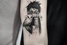 Literary/Geek Ink / The Geekery Book Review: Tattoos inspired by books and authors.