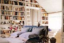 Bookish Places and Spaces / The Geekery Book Review: Places and spaces to read and daydream in.