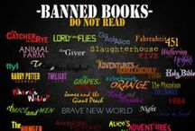 """Banned Books / """"Wherever they burn books they will also, in the end, burn human beings."""" -Heinrich Heine ...The Geekery Book Review"""