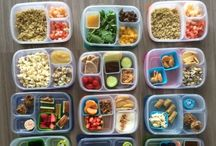 Healthy foodies. / Ideas for meals and snacks for the health conscious.