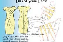 Kaavat: Mekot / Patterns for dressies.