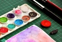 Watercolor addiction / by Lucy Ana de Bem