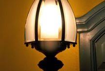 Valaisimet / DIY lamps and lamp shades