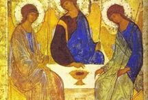 """we  seek  first  to  glorify  the  Triune  God... / 234 The mystery of the Most Holy Trinity is the central mystery of Christian faith and life. It is the mystery of God in himself. It is therefore the source of all the other mysteries of faith, the light that enlightens them. It is the most fundamental and essential teaching in the """"hierarchy of the truths of faith"""".56 Catechism of the Catholic Church"""