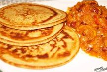 Pancakes! / Our pancakes are free from dairy, sugar and egg.