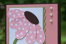 Pearl Embellished Greeting Cards / The cards all have pearls used to embellish them-  or you can see where pearls would fit right in!