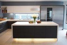 Keittiö | OverLED / Inspiraatiota keittiön valaistussuunnitteluun.  LED -valaistukset OverLEDiltä.  http://kauppa.overled.fi