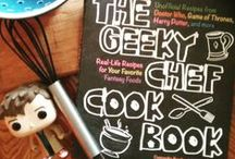 Feed the Geek / Geek food/drinks/cooking, plus throwing a geeked out party.