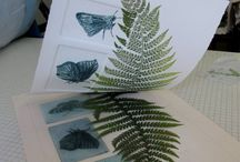Litography & linocut & drypoint