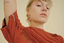 naturligt porträtt /mode i studio