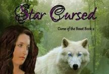 Star Cursed by Ashley Lavering / Seventeen-year-old Tayla will never forget Beast's fiery-venom spreading through her body like an infection. Now, with her best friend Chel's help, she must find a human true love before the last petal falls from her enchanted rose or the full moon will transform her into a wolf forever.