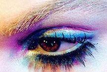 Make-Up / close-up shots from beautiful make-up looks