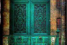 Delightful doorways!