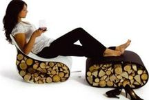 firewood design furniture INdoor storage / Firewood design furniture 4 INdoor by others not by me