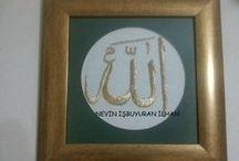 (GOLDWORK) ALTIN İŞİ-TEL KIRMA TEL SARMA / goldwork