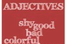 Adjectives / Adjectives