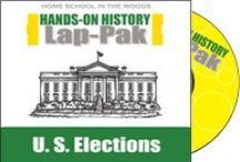 LAP-PAK: U.S. Elections / With 2016 being an election year, this is the time to get to know what goes into how we elect a president! Includes printable reading text, audio narration of text, and over 20 projects to make a complete lap book.