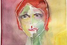 Kajsa Paludan Watercolor / Watercolors by Kajsa Li Paludan