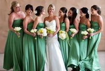 Colors Wedding Theme Inspo / Ideas for green-incorporated wedding themes