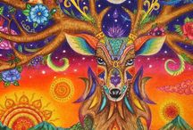 My drawings / Mandala, Spiritual Art