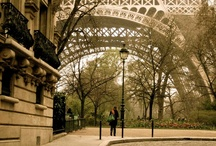 The French & Paris / Parisian homes, places and scenes.