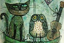 owls & cats