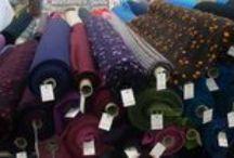 Aux Tissus de la Mine il y a... / ...des tissus pour l'ameublement, l'habillement, la décoration, du fil de laine fantaisie et classique, des accessoires pour coudre, broder, tricoter, et même des accessoires pour créer des accessoires !!!