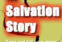 The Salvation Story / Salvation -- the rescue of a person from death to eternal life through Jesus Christ our Lord. Here's what Salvation means to so many people whose lives have been changed by God. To participate in The Salvation Story project, sponsored by The Christian Culture Center, visit http://christianculturecenter.org/ProgramsandServices/TheSalvationStory.aspx