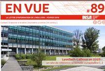 En vue : La lettre d'information de l'INSA Lyon