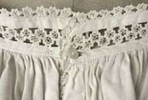 Early to Mid Victorian Undergarments / Early to Mid-Victorian underclothes, 1837-1868: chemises, drawers, petticoats, hoops, etc.