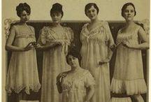 19-Teens Undergarments / 19-Teens Era underclothes, 1912-1920: chemises, drawers, petticoats, princess petticoats, etc. / by Old Petticoat Shop