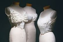 Edwardian Corset Covers / Corset covers from 1900-1911 - these undergarments are not meant to be seen