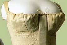 Regency and Romantic Era Corsets / Corsets & stays from 1795 to 1840