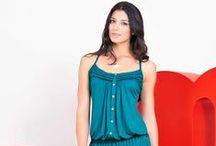 Colección Aires de cambio / Renueva tu look y destaca tu mejor lado, usando prendas que te brindan sensualidad y armonía.