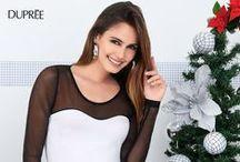 ADELÁNTATE A NAVIDAD / Moda femenina perfecta para una gran celebración. Campaña 17 2014