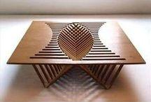Houtbewerken meubels