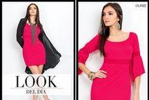 AUDAZ Y SOFISTICADA / Descubre el look que te hace sentir radiante. #Moda #Fashion Dupree Colombia