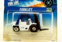 Hot Wheels Forklifts / Hot Wheels Forklifts