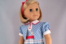 American Girl Doll Clothes to make / I enjoy creating American Girl doll clothes, mainly historical styles.