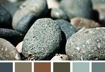 Couleurs atlantique de bord de mer / Les couleurs ou teintes chaleureuses de bord de mer
