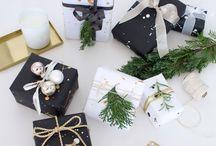 Gift Wrapping / Geschenke Weihnachten