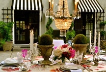 TABLE & CANDLES