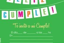 Cumpleaños - Invitaciones listas para llevar