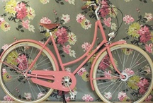 Granny Chic / Hop on your bike & take a delightfully quirky trip down memory lane.....♥