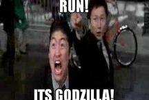 Run!! It's Godzilla!! (Gojira!) / Godzilla and all associated monsters! / by Doomsayer2001